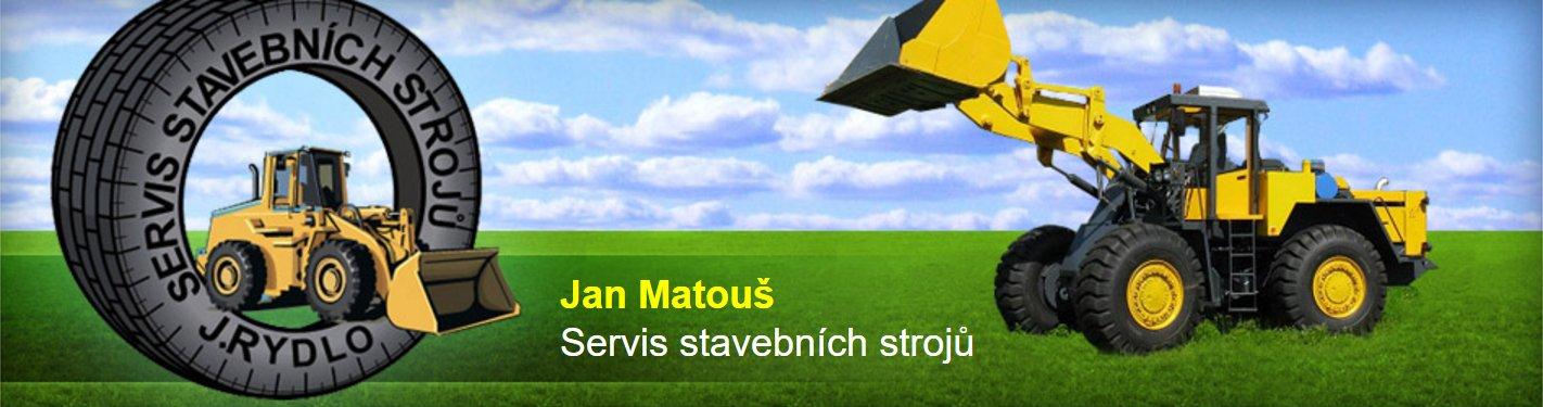Jan Matouš, Servis stavebních strojů